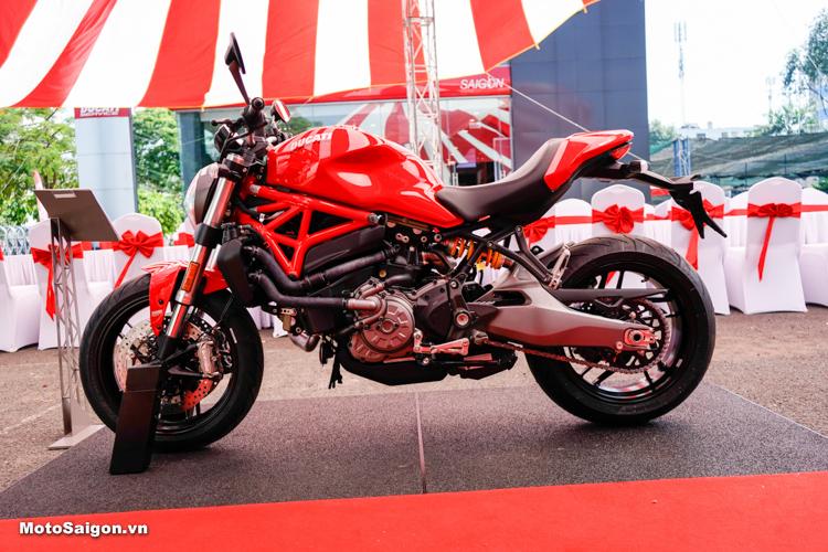 Ducati Monster 821 2018 được Ducati giới thiệu tại Việt Nam cách đây chưa lâu