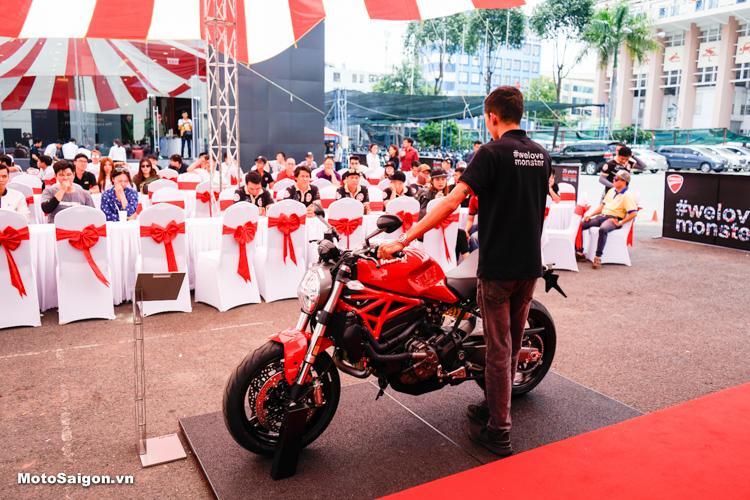Ducati Việt Nam chính thức giới thiệu Monster 821 phiên bản 2018 tại thị trường Việt Nam