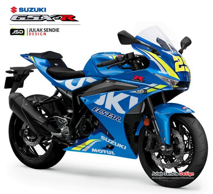 Hình ảnh được cho là thiết kế thực tế của Suzuki GSX-R300