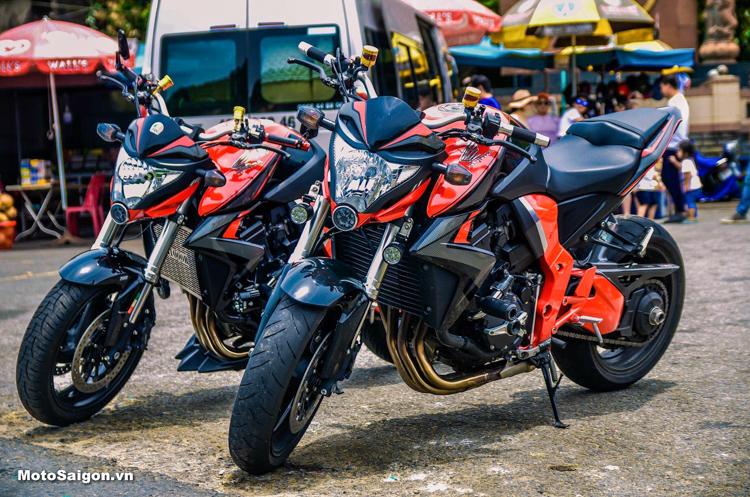 Bộ đôi Honda CB1000R huyền thoại đọ dáng tại Đà Nẵng