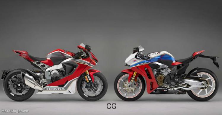 Honda CBR1000RR 2019 lộ thiết kế với gắp đơn như CB1000R