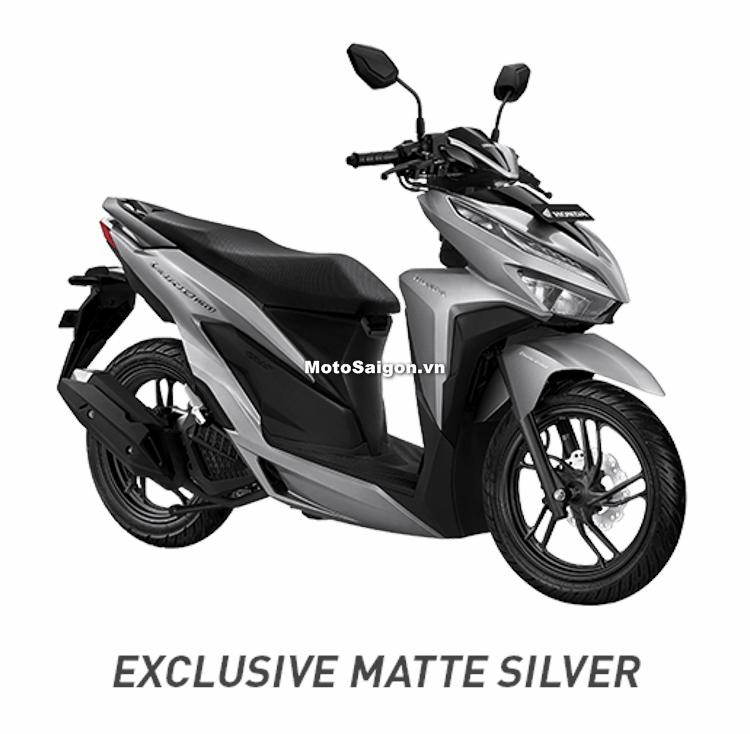 Honda Vario 150 2018 phiên bản màu bạc