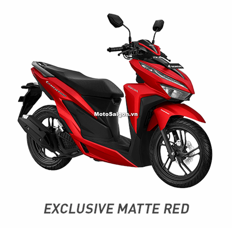 Honda Vario 150 2018 phiên bản màu đỏ