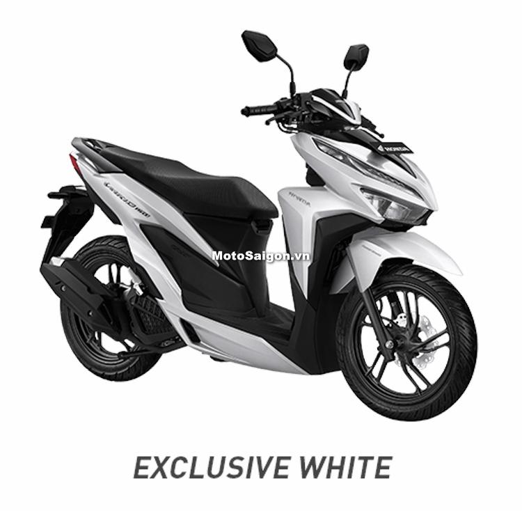 Honda Vario 150 2018 phiên bản màu trắng