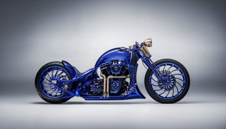 Harley-Davidson Softail Slim Blue Edition trị giá 43 tỉ đồng