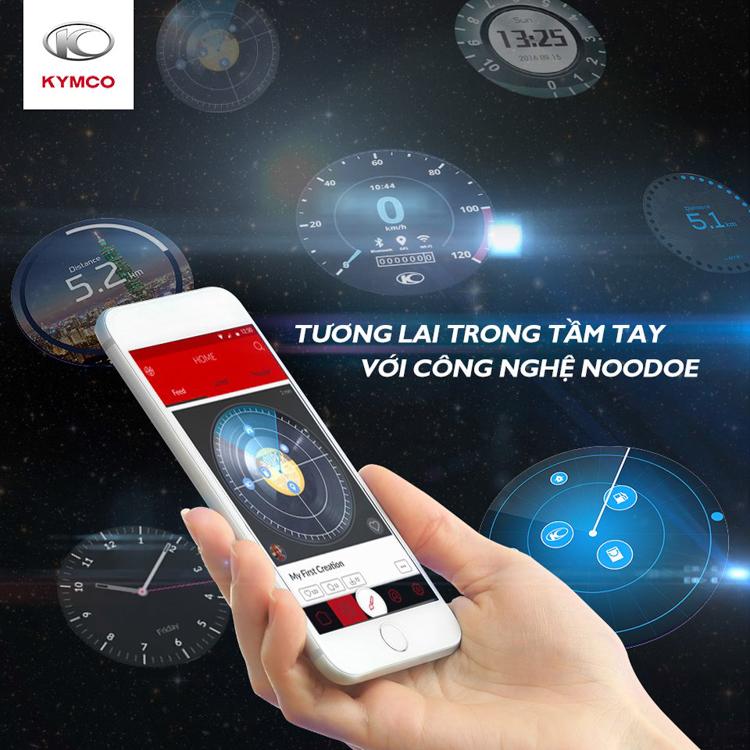 Noodoe là gì? Noodoe là hệ thống hiển thị những thông tin cần thiết và hữu ích thông qua màn hình đồng hồ của xe