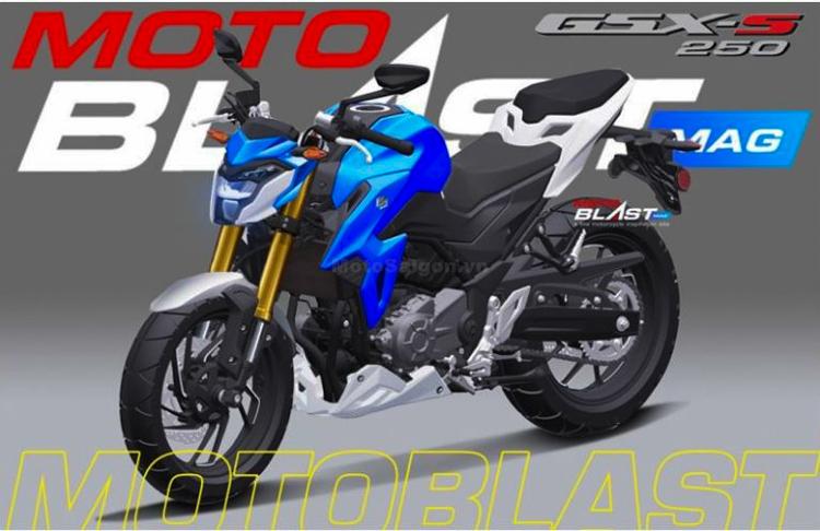 Lộ diện hình ảnh được cho là Suzuki GSX-S250