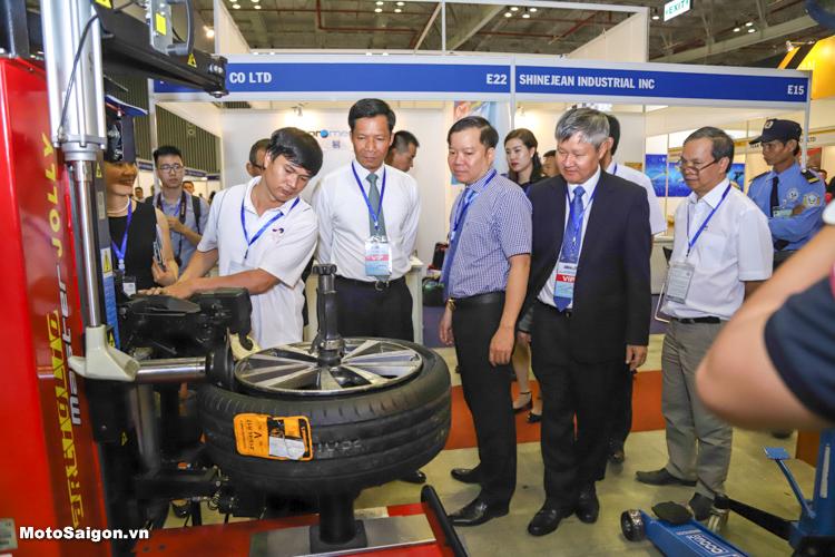 Triển lãm Ô tô xe máy Saigon Autotech & Accessories 2018 chính thức khai mạc