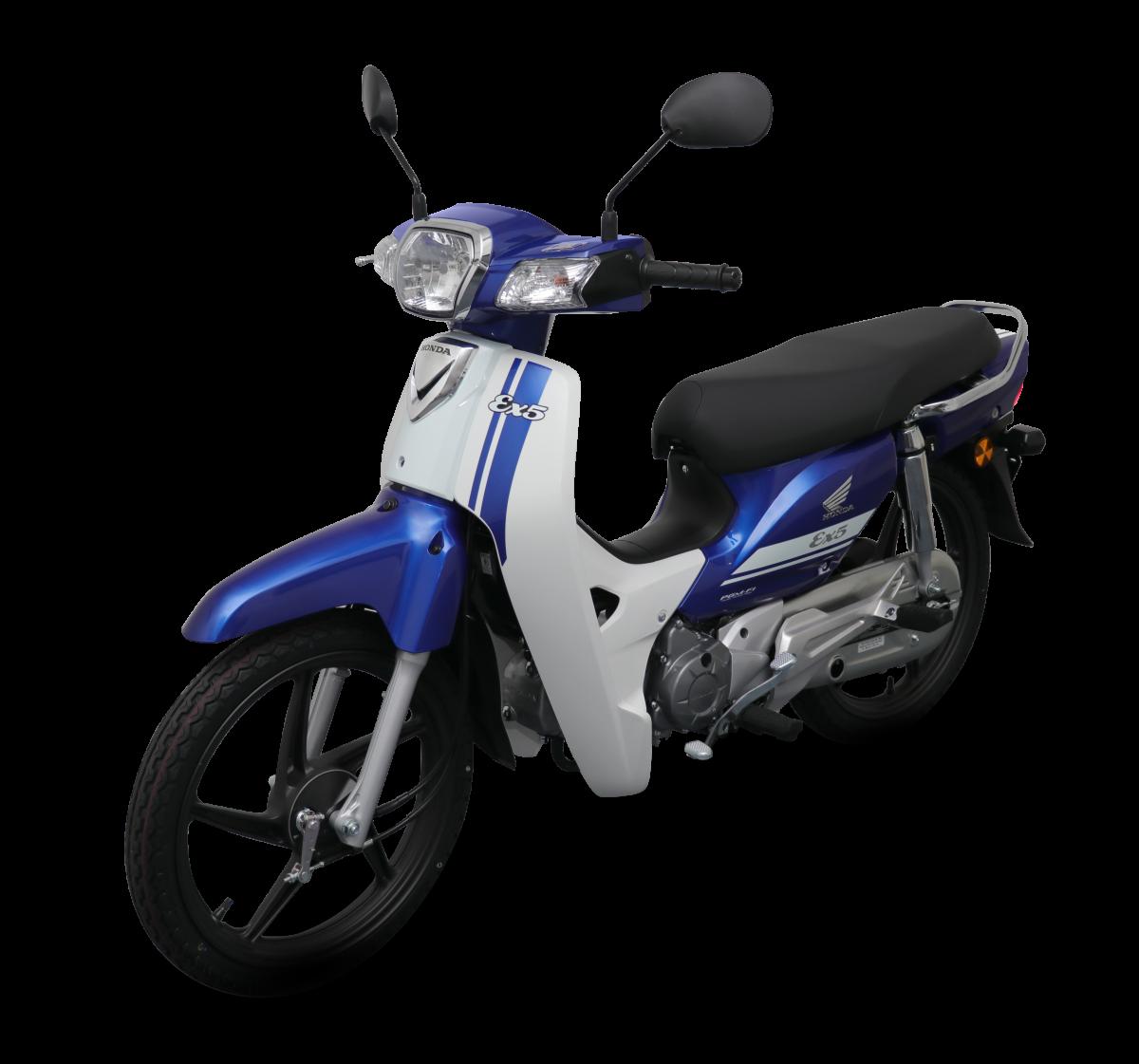 Honda EX5 2018 phiên bản vành đúc màu xanh dương