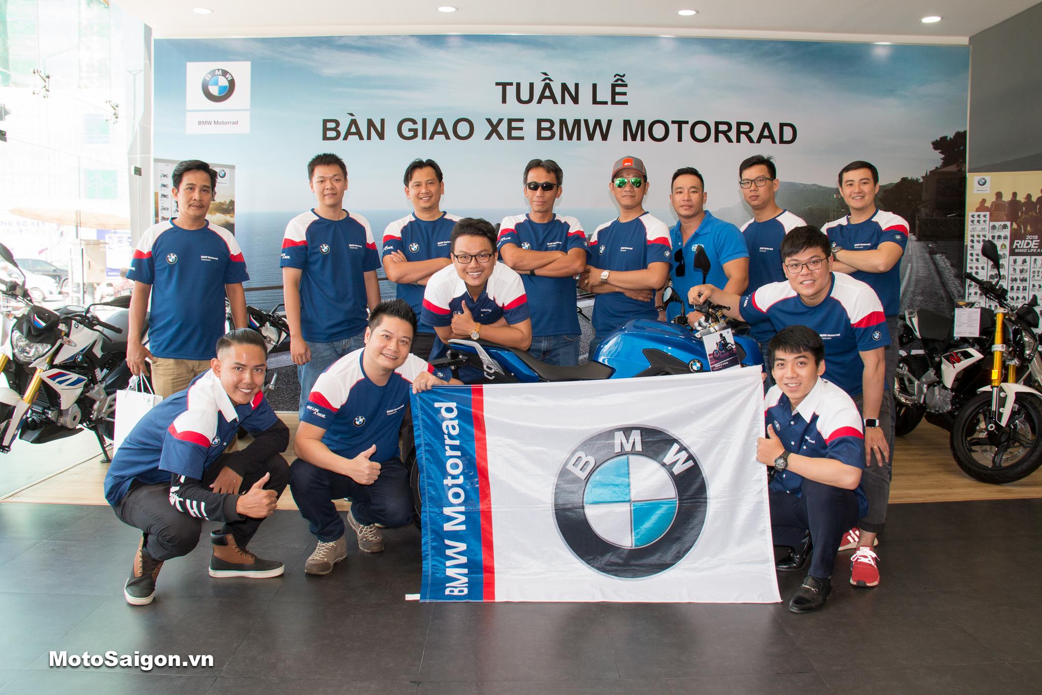 Lễ bàn giao xe BMW Motorrad chính hãng đã đến tay các khách hàng đầu tiên