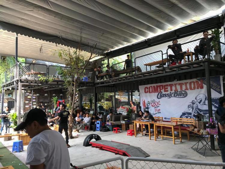 Toàn cảnh Classic Bike Competition Cuộc thi xe độ ở Sài Gòn