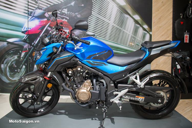 Honda CB500F 2018 giá bán chính hãng 172 triệu đồng tại Việt Nam