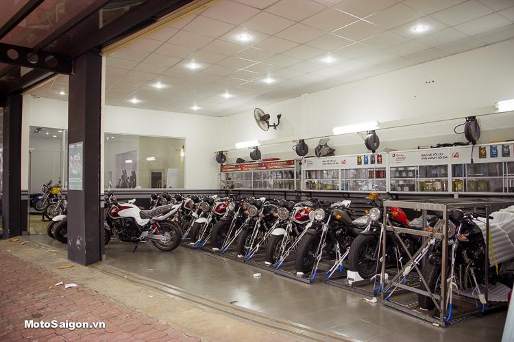 Lô hàng Honda Rebel 500 và Honda CB400 bản đặc biệt cập bến Honda Motorrock