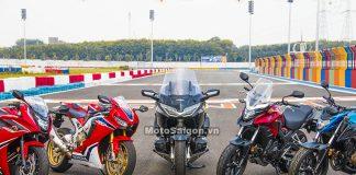 Bảng giá xe moto Honda chính hãng tại Việt Nam 2018