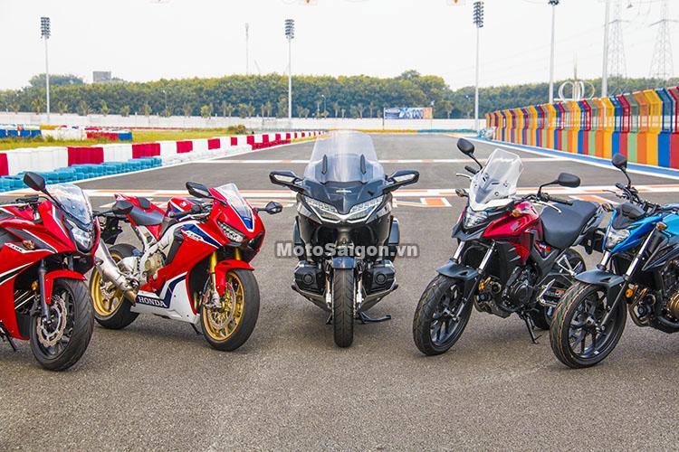 Bảng giá xe moto Honda 2019 mới nhất hôm nay