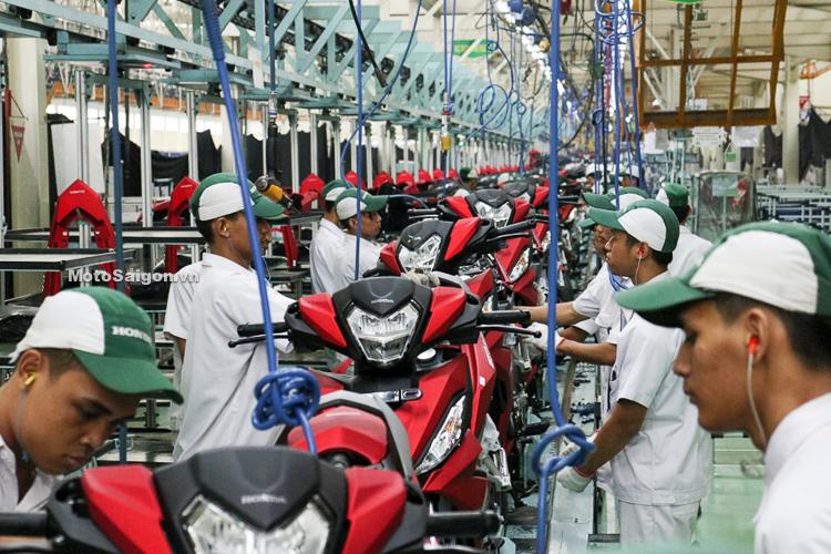 Nhà máy sản xuất Honda Winner mới tại Indonesia.