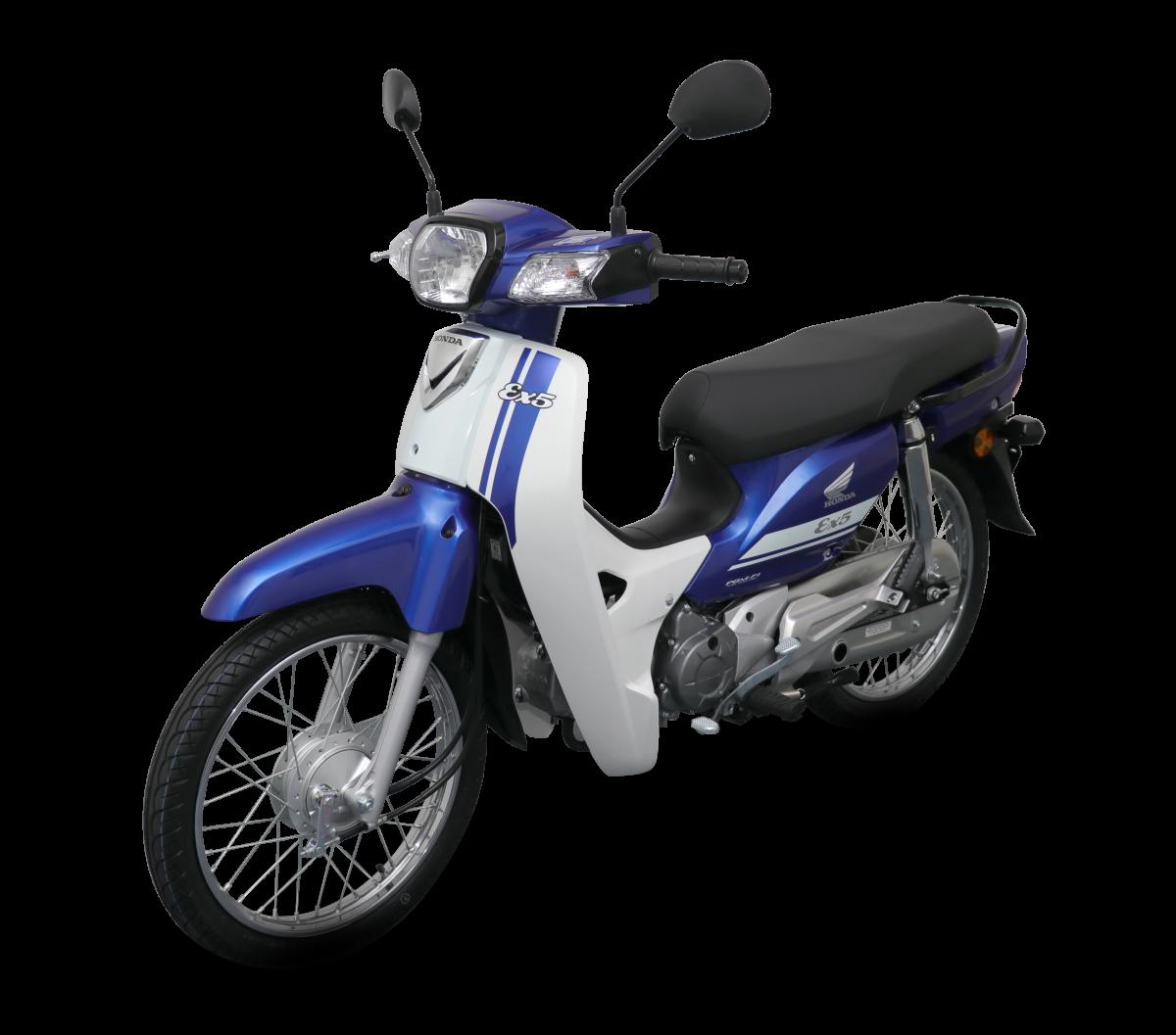 Honda EX5 2018 phiên bản vành nan hoa màu xanh dương