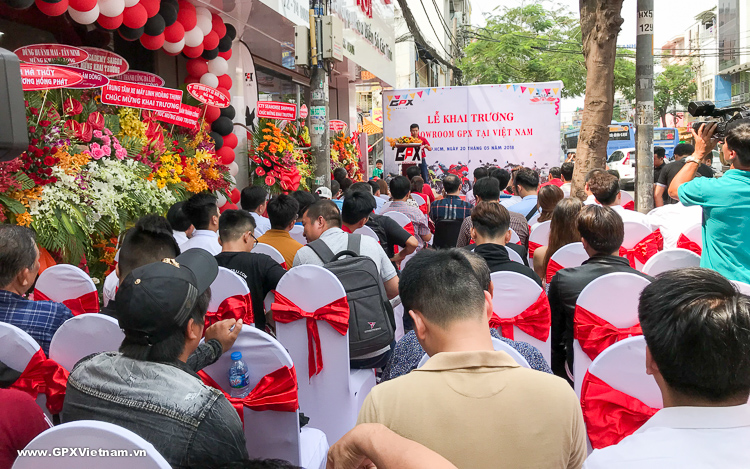 Showroom GPX Việt Nam chính thức khai trương và đi vào hoạt động tại VN