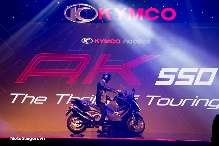 KYMCO AK550 chính thức ra mắt tại Việt Nam giá bán 375 triệu đồng