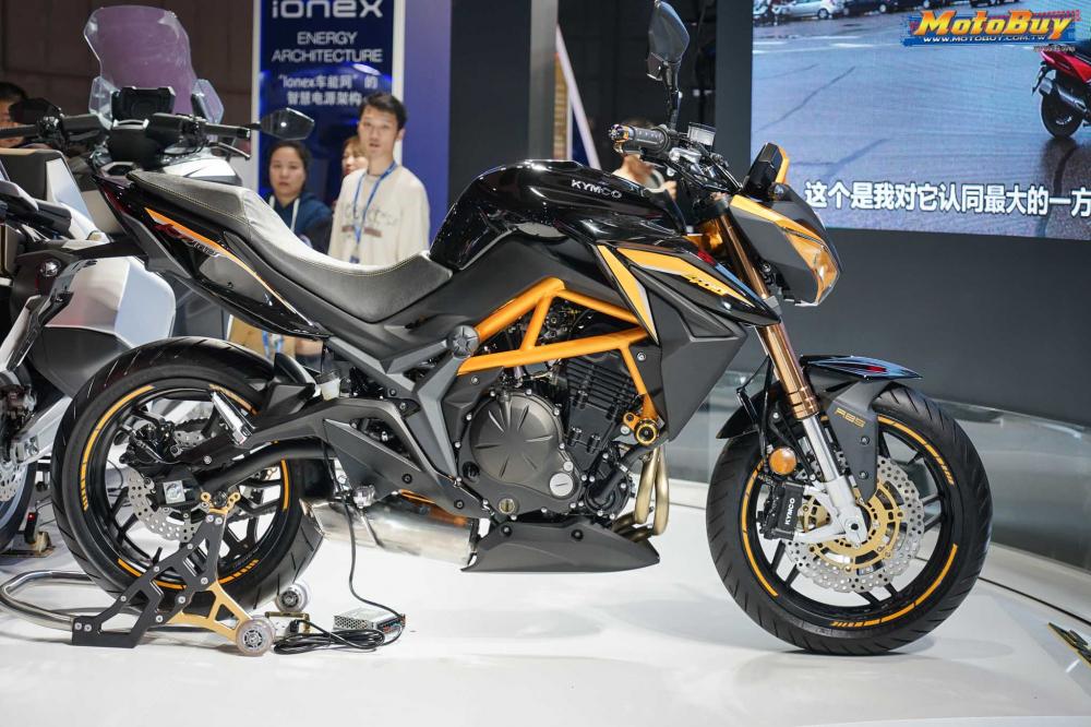 Kymco K-Rider 400 sắp có giá bán tại Việt Nam?