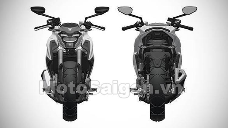 """Mắt trước và sau khá """"ngầu"""" của Suzuki GSX-S300"""
