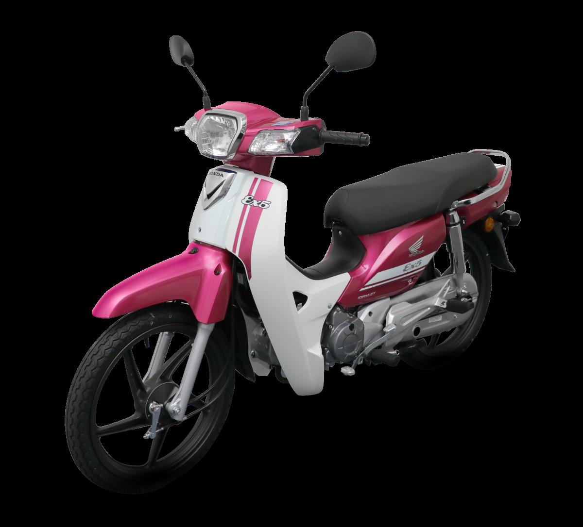 Honda EX5 2018 phiên bản vành đúc màu hồng