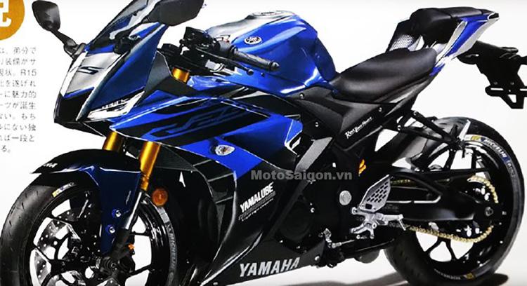 Yamaha R3 2019 và R25 sẽ lại có chung thiết kế?