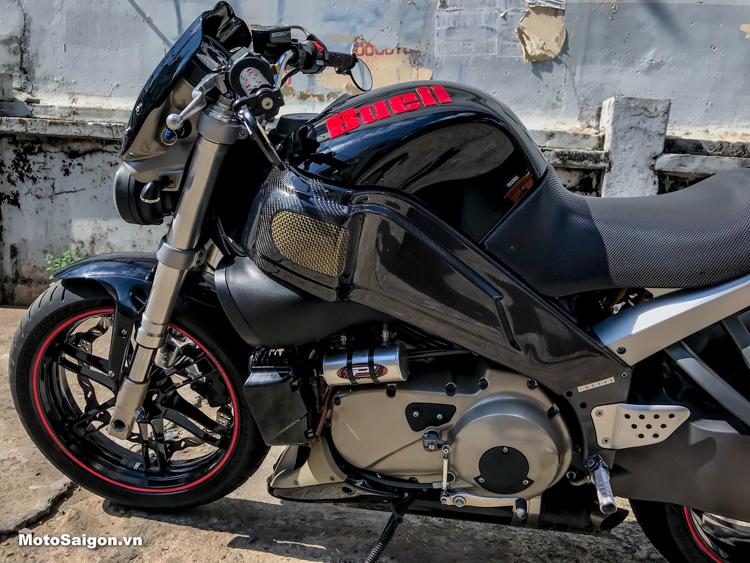 Nghe thử tiếng pô Harley trên Buell XB12S siêu hiếm tại VN