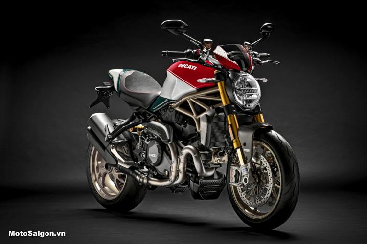 Ducati Monster 1200 2019 25 ° Anniversario phiên bản giới hạn kỷ niệm 25 năm mới được Ducati ra mắt