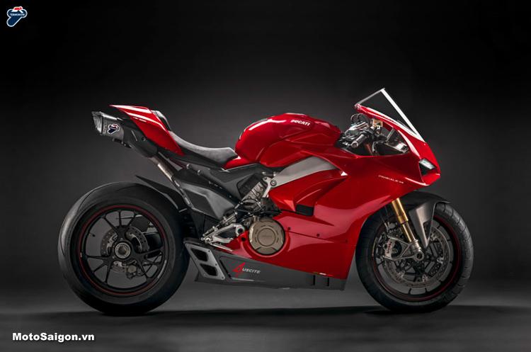 Termignoni 4USCITE Pô xe dành riêng cho Ducati Panigale V4