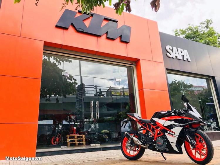 KTM RC390 2018 đầu tiên về Việt Nam Giá cực sốc