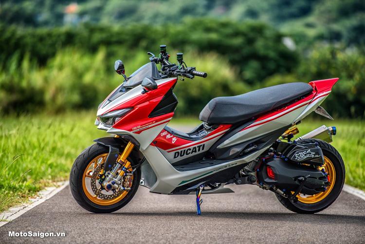 Yamaha Force 155 độ phong cách Ducati cực kỳ ấn tượng và đẹp mắt