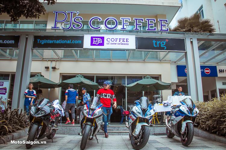 Bộ ảnh dàn xe moto pkl BMW tụ họp tại Sala Quận 2