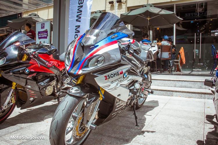 """""""Cá Mập"""" BMW S1000RR Full Carbon cùng nhiều món đồ chơi của 3Some Team"""