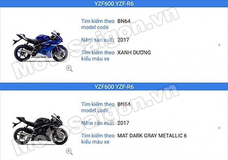 Lộ danh sách các mẫu xe moto Yamaha chính hãng?