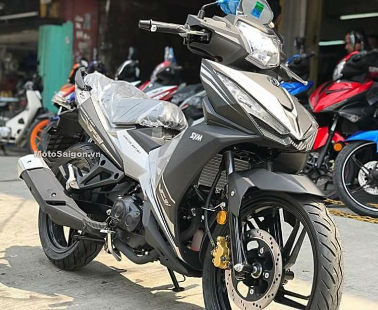 SYM VF3i mẫu xe côn tay 185cc đã về Việt Nam?