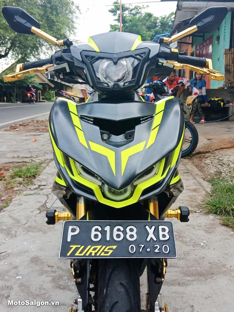 Đồ chơi xe Exciter đầu đèn GT Full LED của Indonesia