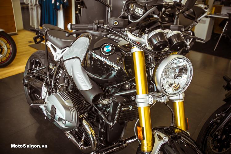 BMW R NineT 2018 sử dụng bộ phuộc trước của BMW S1000RR