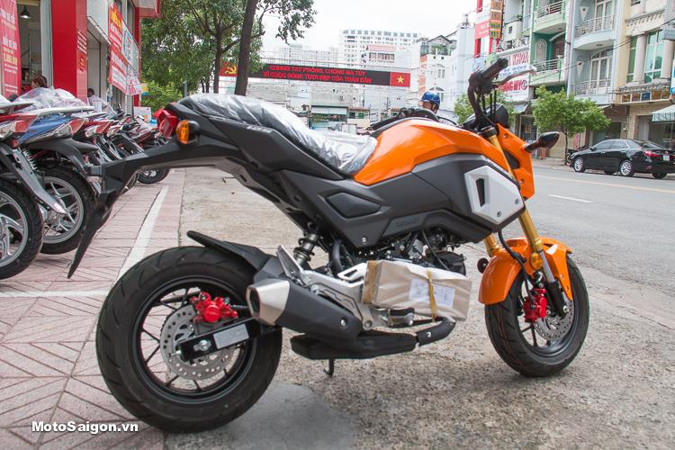 Honda MSX125 2018 nhập Thái đã về các đại lý Head kèm giá bán