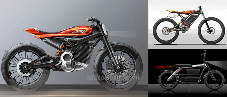 Xe moto điện Harley-Davidson LiveWire