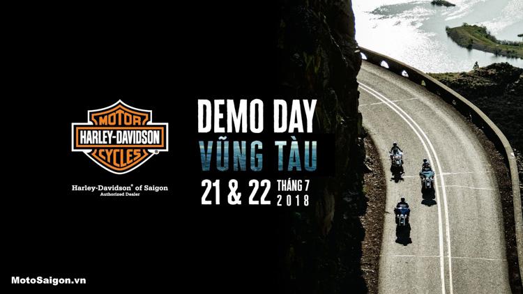 Chương trình Lái thử xe Harley-Davidson tại Vũng Tàu tháng 7