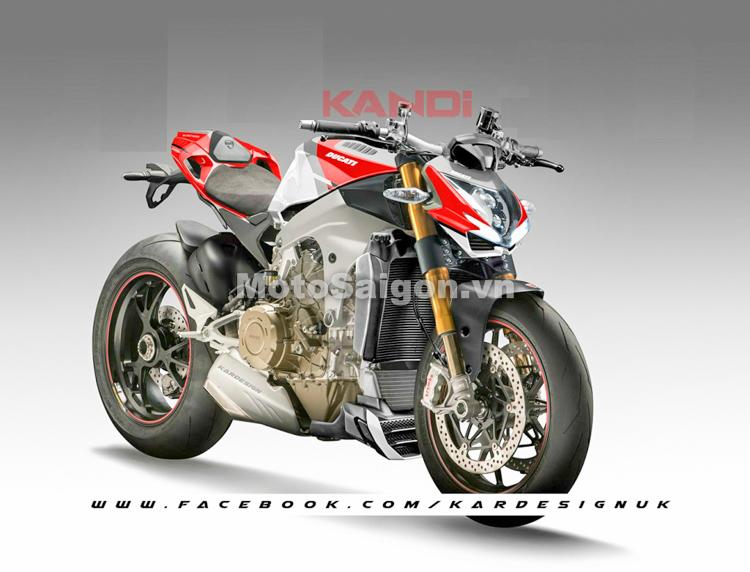 Ducati V4 StreetFighter Ông trùm dòng Naked sắp ra mắt?