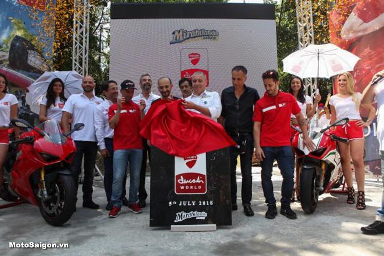 Công viên giải trí Ducati chính thức khởi công