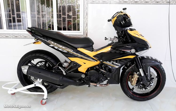 Exciter 150 độ bánh to moto PKL cực chất của Biker Đồng Tháp