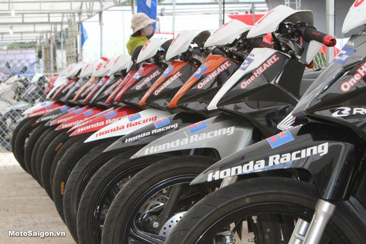 Blade 110 phiên bản đua Tuyệt phẩm của Honda Việt Nam Racing