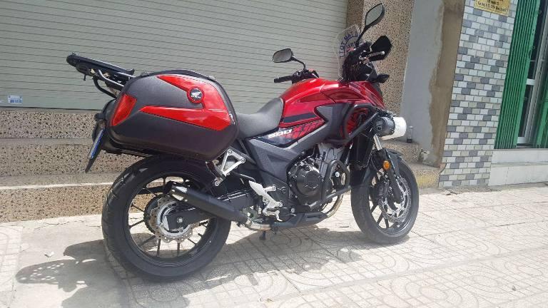 Honda CB500X độ pô và lên đồ đi Tour cực chất