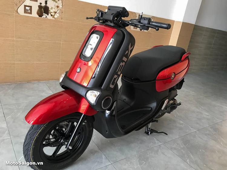 Yamaha QBIX 125 màu Đỏ đen