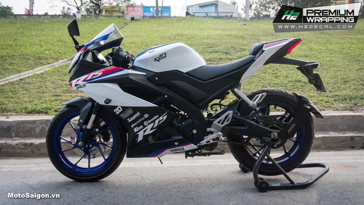 Yamaha R15 V3 lên tem theo phong cách BMW HP4
