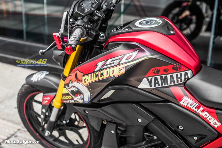 Yamaha TFX 150 lên tem Bulldog cực ngầu và chất