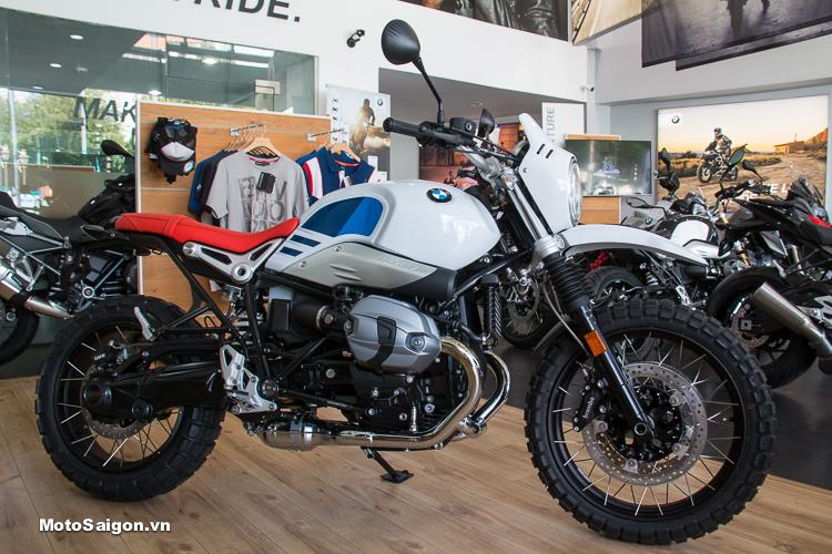 BMW R NineT Urban G/S 2018 nhập Đức đầu tiên về Việt Nam